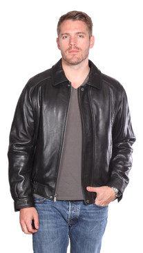 Mason and Cooper | Easton Leather Bomber
