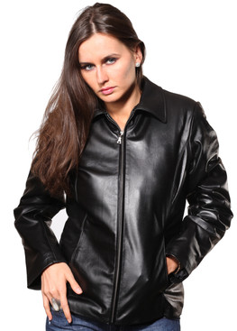 Wilda | Fiona Leather Jacket