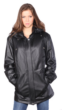 Wilda | Kim Leather Parka