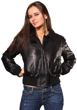 Wilda | Janice Leather Jacket