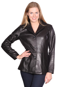NuBorn Leather | Tribeca Leather Blazer