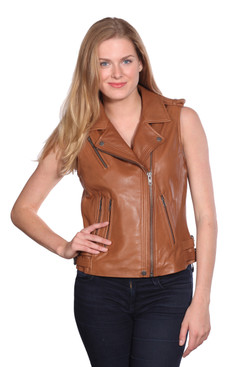 NuBorn Leather | London Leather Vest