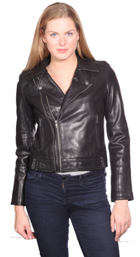 NuBorn Leather | Emmy Leather Jacket