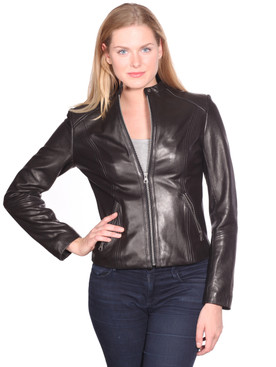 NuBorn Leather | Mika Leather Jacket