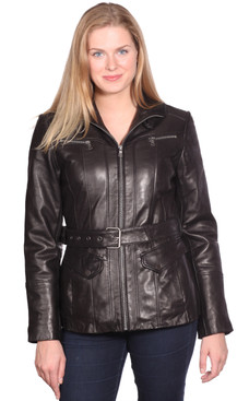 NuBorn Leather | Elena Leather Jacket
