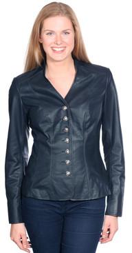 NuBorn Leather   May Leather Blazer