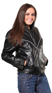 Wilda   Carli Leather Jacket