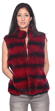 Wilda | Lexington Rex Rabbit Fur Vest
