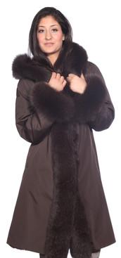Wilda   Empire Fox Fur Stroller