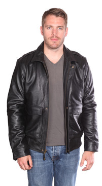 NuBorn Leather | Roger Leather Bomber