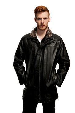 Mason & Cooper | Norton Leather Coat
