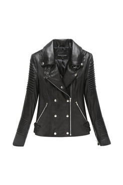 Mason & Cooper | Grace Lamb Moto Jacket