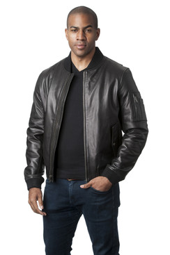 Mason & Cooper | Avery Leather Flight Jacket