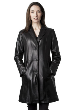 Mason & Cooper | Kate Leather Coat
