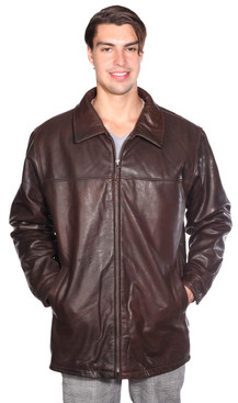 Wilda Classic Zip Front Lamb Coat w/ Thinsulate™ Zip-out Liner
