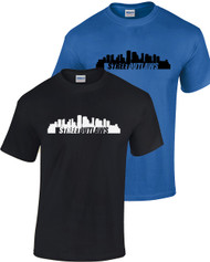 NOLA Skyline Logo Tee (Royal & Black)