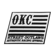 Street Outlaws OKC Flag Patch