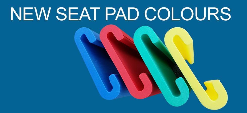 Dragon boat seat pads - blue, red, green ,yellow, Australia