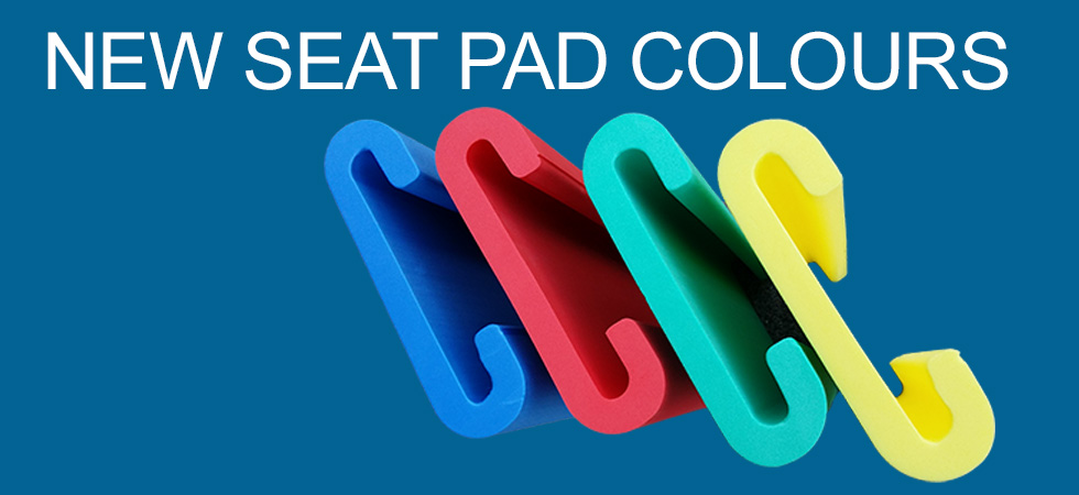 Dragon boat seat pads - blue, red, green ,yellow, Australia
