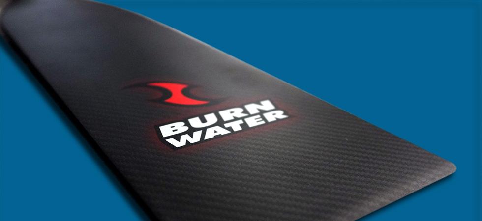Burnwater carbon fiber dragon boat paddles Australia