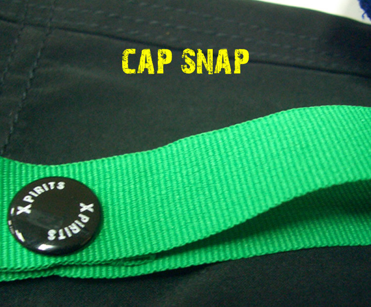 Quick dry microfibre padded paddling shorts -snap lop to hang your cap on