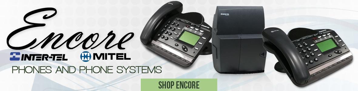 Encore Inter-Tel Mitel Equipment
