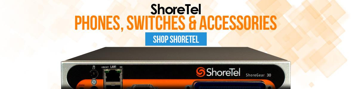 ShoreTel IP Phones and Accessories