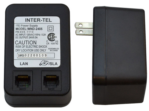 Inter-Tel / Mitel 24V Power Adapter (WND-2405)