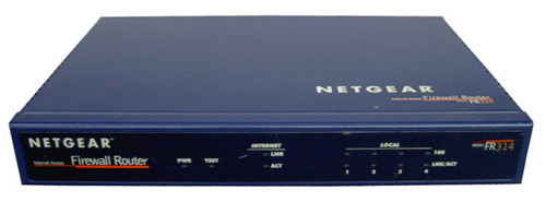 Netgear FR314 Cable/DSL Firewall Router 4-Port Switch