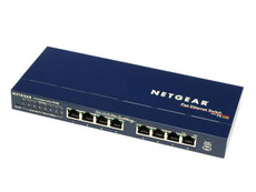 Netgear FS108 ProSafe 8 Port Switch