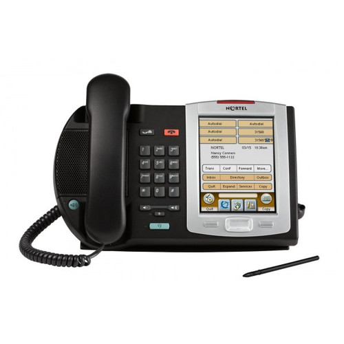 Nortel 2007 IP Phone NTDU96AB70 Touchscreen