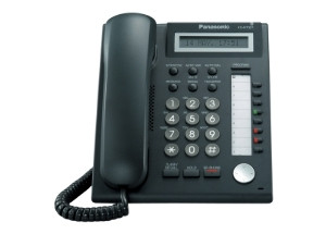 Panasonic Basic Display Digital Phone KX-DT321-B