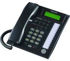 Panasonic KX-T7736 24 Button Phone (Black)