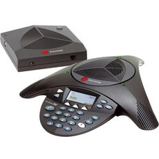 Polycom SoundStation 2W EX Conference Phone 2200-07800-160 DECT 6.0