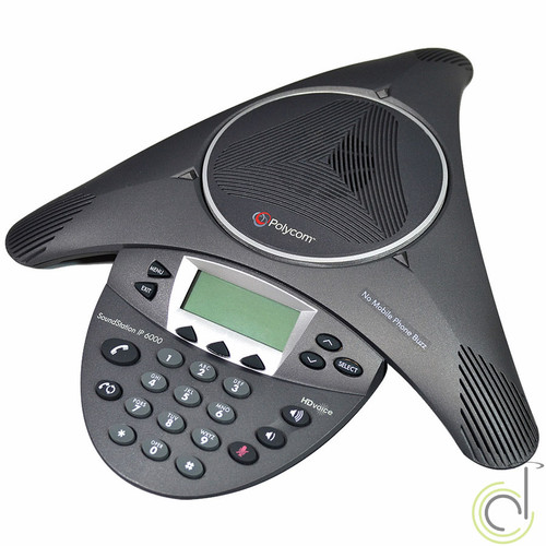 Polycom SoundStation IP 6000 Conference Phone 2200-15600-001
