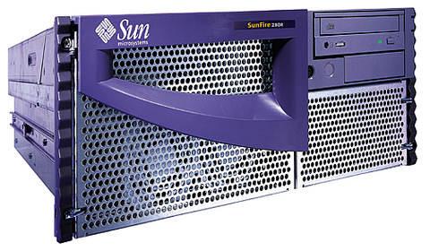 Sun Sunfire 280R 280 R 2GB Ram 2x 36GB HDD 750Mhz Proc.