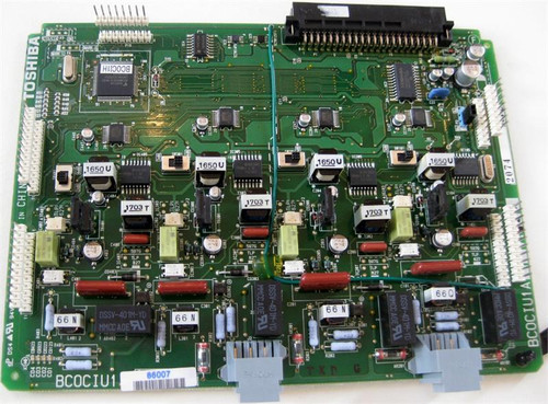 Toshiba 4 Port Line Card (BCOCIU) with Caller ID