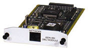 Adtran 1204004L2 ISDN BRI DBU Module IQ TSU