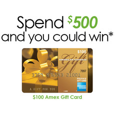 Spend $500 Amex Gift
