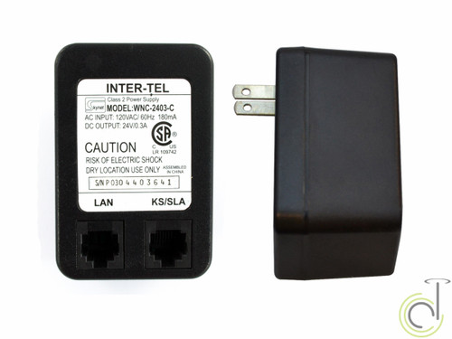 Inter-Tel WNC-2403-C 24V Power Adapter