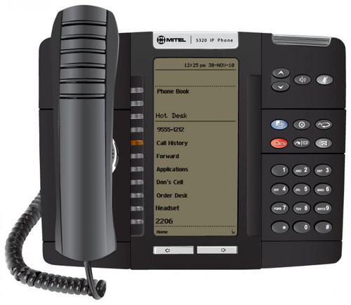 Mitel 5320e Backlit Gigabit IP Phone 50006634