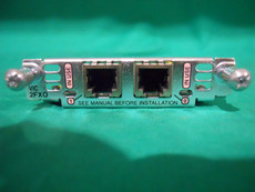 Cisco VIC-2FXO Genuine Voice Interface Card VIC 2 FXO
