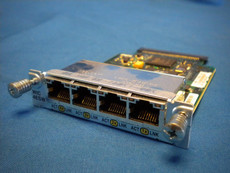 Cisco WIC-4ESW Halogram 1751 Interface Card Genuine