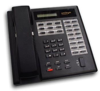 Comdial Unisyn 1022S-FB Black Display Phone