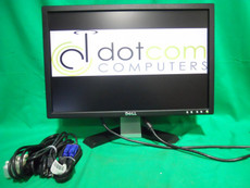 "Dell Widescreen 19"" Monitor E198WFPF Flat LCD DVI USB"