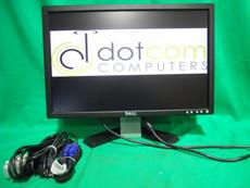 """Dell Widescreen 19"""" Monitor E198WFPF Flat LCD DVI USB"""