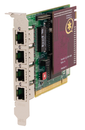 Digium TE407P Quad T1/E1 PCI Card