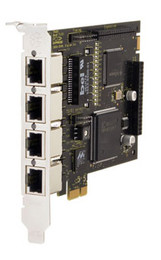 Digium TE420 Quad T1/E1 PCIe Card