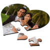 Custom Heart Shaped Jigsaw Puzzle / 23 Piece Hardboard / Add your own Picture, Text, Art