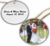 Custom Personalized Christmas/Holiday Ornaments w/ Your Photo/Picture, Text